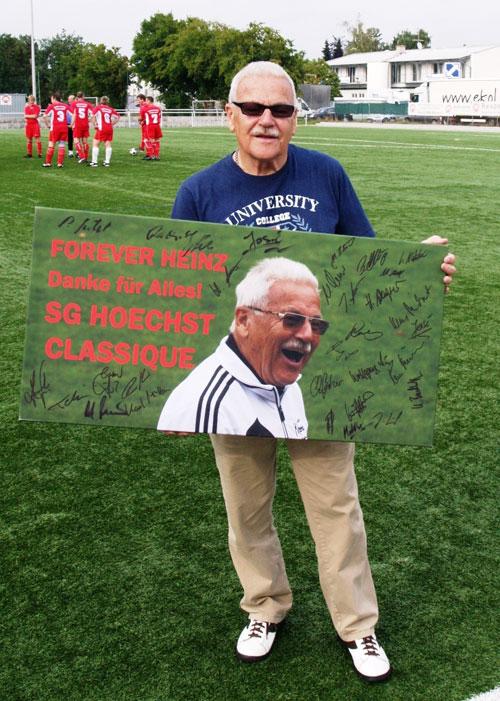 Nach sechs Jahren erfolgreicher Betreuung der SG Hoechst Classique geht die Trainerlegende Heinz Wulf in den Ruhestand