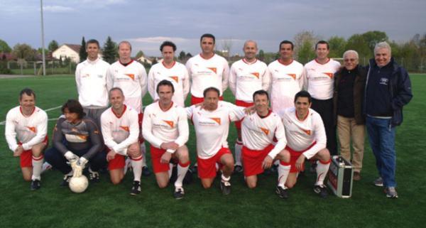 Das erfolgreiche Classique Team vor dem Spiel bei der SG Oberliederbach