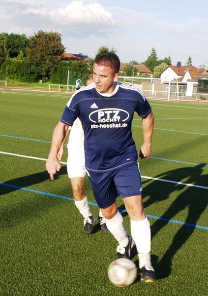 Franco Frenda erzielte den 1:1 Ausgleich gegen die FG Eichwald Sulzbach